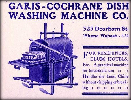 Dish washer ad. Image: Public Domain.