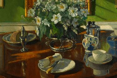 The Breakfast Table, Patrick William Adams. Image: Public Domain.