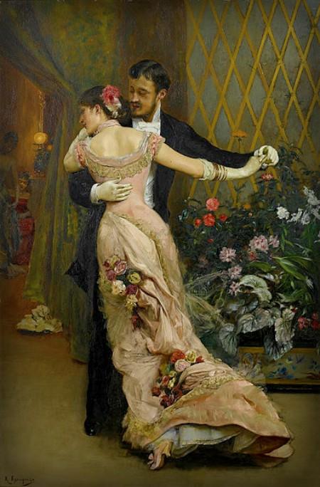 The End Of The Ball: Rogelio de Egusquiza, 1915. Image: Wikipedia.