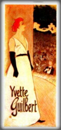 Folies-Bergère: Yvette Guilbert, Théophile Alexandre Steinlen, 1894. Image: Wikipedia.