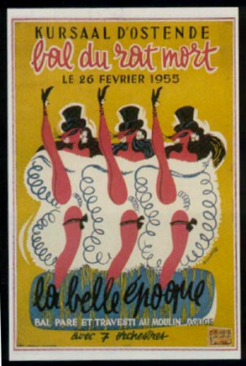 Bal Rat Mort Poster, 1955. Image: http://eng.ratmort.be.