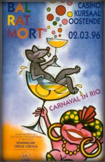 Bal Rat Mort Poster, 1996. Image: http://eng.ratmort.be.