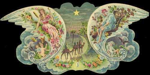 Nineteenth-Century Mardi Gras Invitations: Nereus, 1900. Image: New Orleans Public Library.