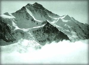 Eduard Spelterini-North Face, Jungfrau, 1904. Image: Wikipedia.