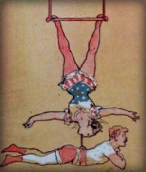 Leona Dare Poster, Folies-Bergere. Image: gallica.bnf.fr.