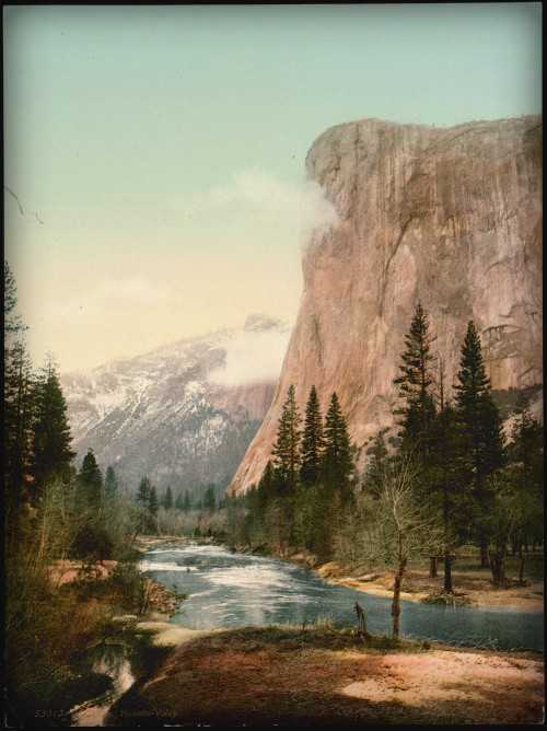 Victorian Era Photochrom Postcards: Yellowstone Park. Library of Congress.
