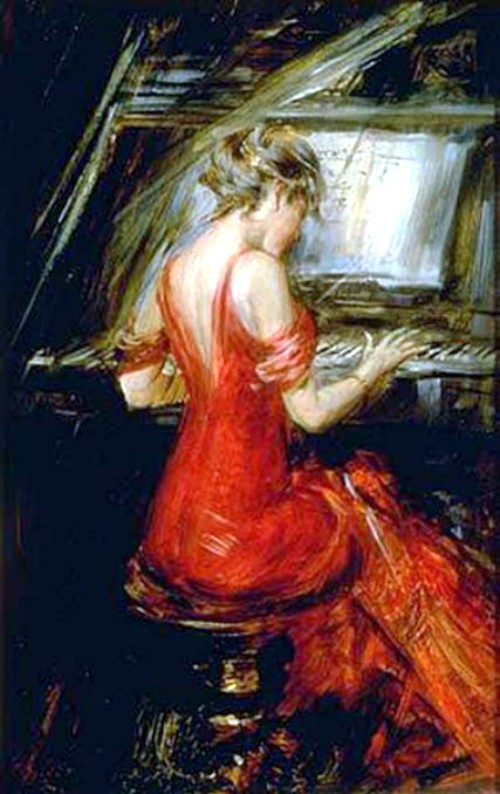 Giovanni Boldini, Woman In Red. Image: Wikipedia.