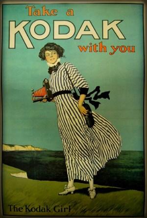 Kodak Girls Ad. Image: Library.Ryerson.Ca.