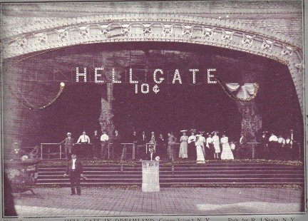 Coney Island Dreamland, Hell Gate. Image: Library of Congress.