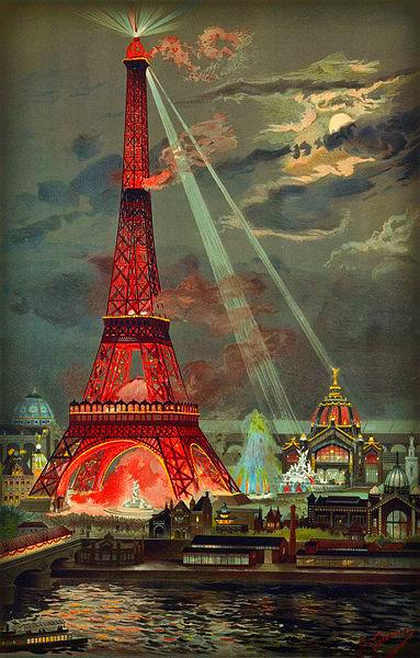 Eiffel Tower by Georges Garen.
