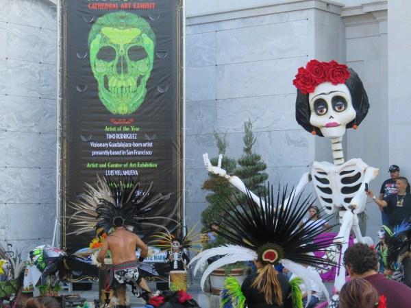 Hollywood Cemetery; Aztec Dance. Image: BarbaraRoseMedia.com.