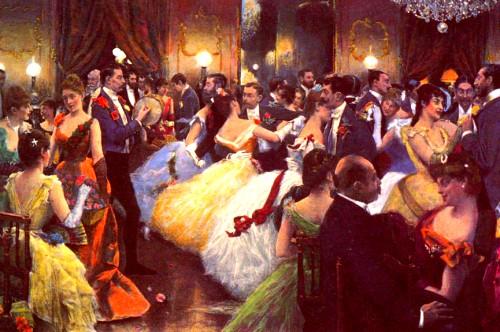 Julius LeBlanc Stewart - 1885 The Ball. Image: Wikipedia.