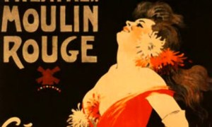 Jules Chéret Chérettes-Theater Moulin Rouge. Image: Wikipedia.
