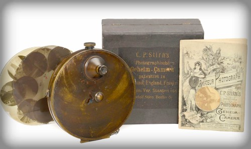 C.P. Stirn''s Vest Camera. Image: Auction Team Breker.