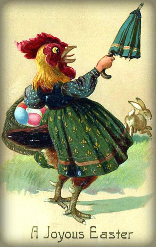 Easter Hen. Image: Public Domain.