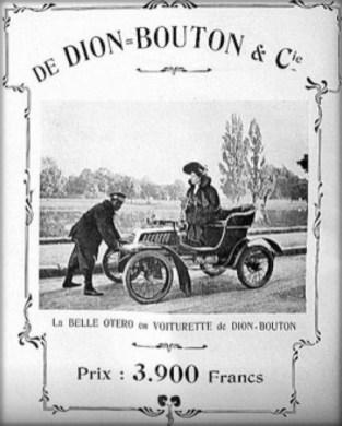 Product Endorsement. Image: De Dion-Bouton Company.