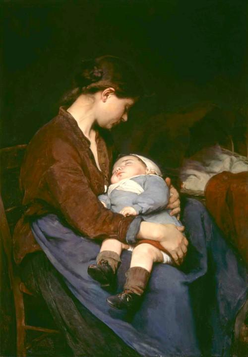 Elizabeth Nourse, 1888. Image: Wikipedia.