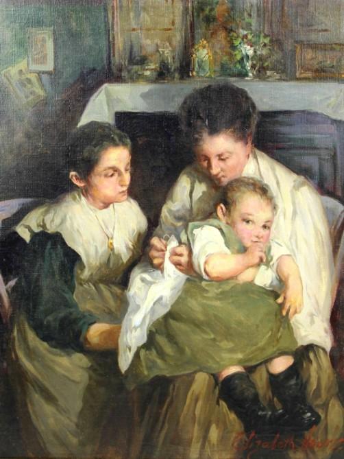 Elizabeth Nourse, Maternity. Image: Wikipedia.