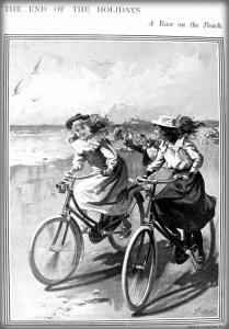 Bicycle Race: The Sphere, 1900. Image: oldbike.eu.com.