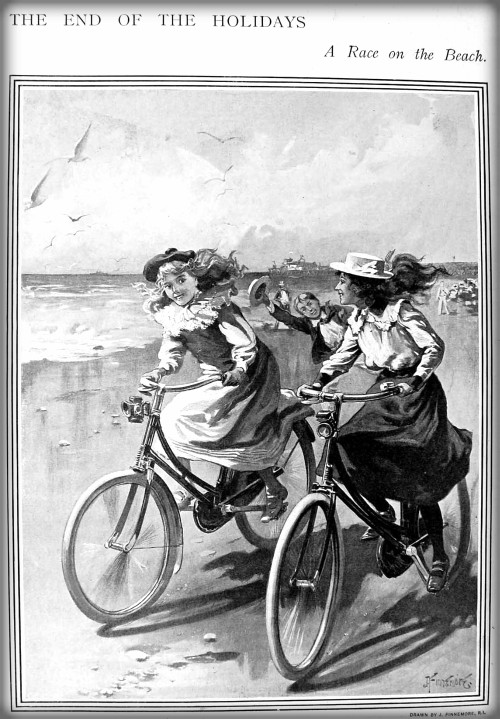 Bicycle Race: The Sphere, 1900. Image: oldbike.eu.com.