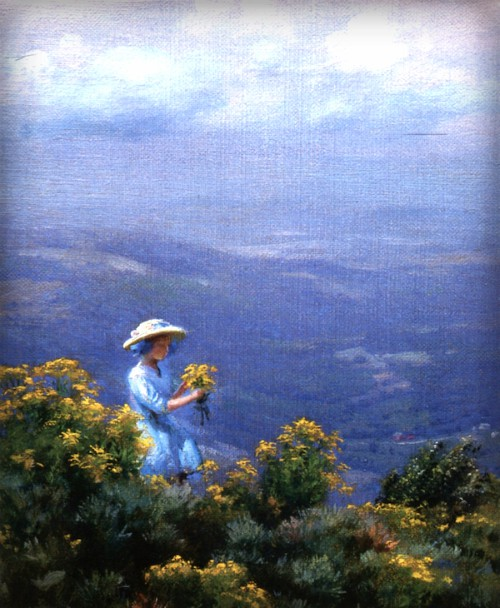 Blue Hills And Goldenrod, 1911. Image: Wikipedia.