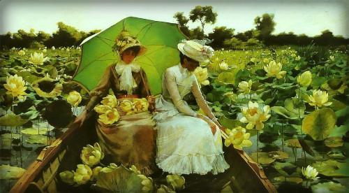 LotusLilies, 1888. Image: Wikipedia.