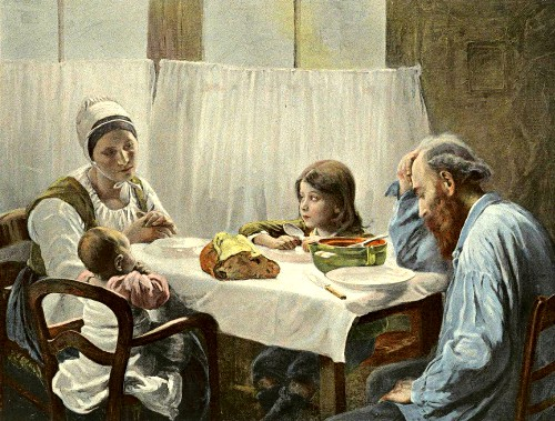 Elizabeth Nourse, The Family Meal, 1891. Image: Wikipedia.