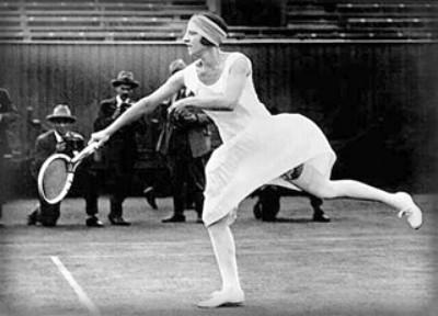 Suzanne Lenglen. Image: Wikipedia.