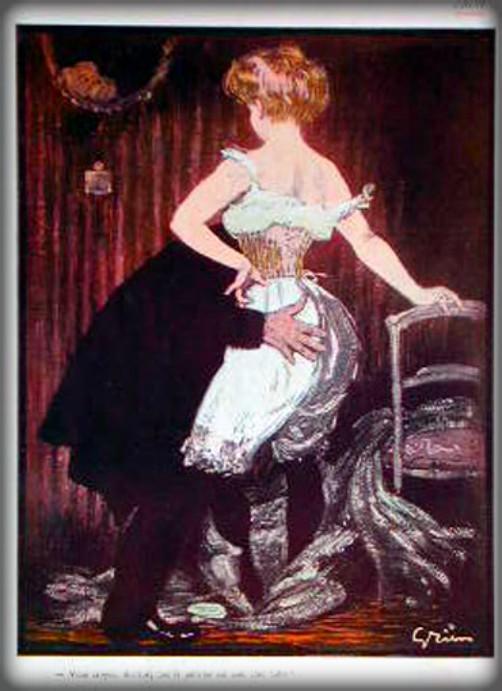 Lady In Underwear by Jules-Alexandre Grün. Image: Wikipedia.