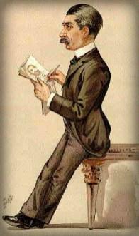 Jean Paleogogue Illustration of Leslie Ward, Vanity Fair, Nov. 1889. Image: Wikipedia.