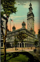 Tinted photograph of Madison Square Garden II,. Image: Wikipedia.