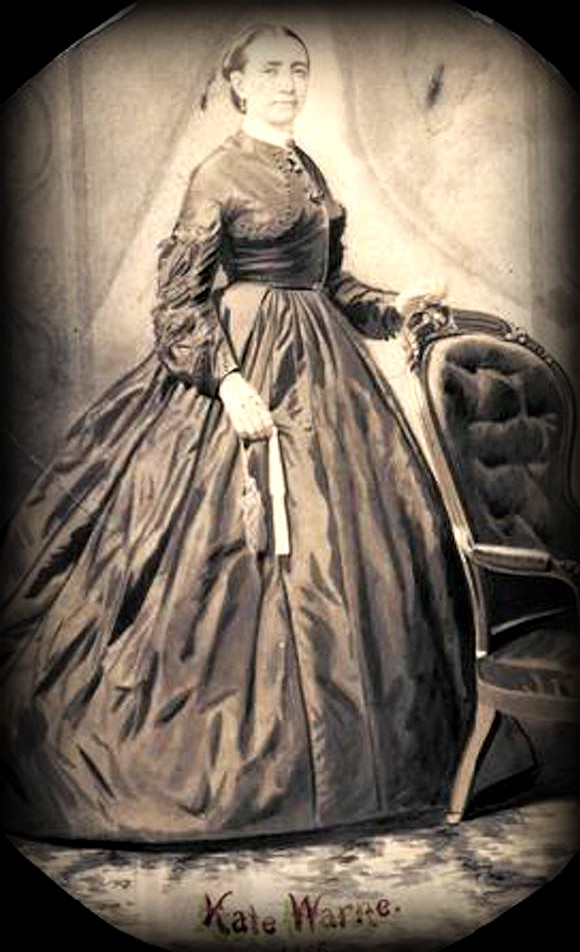 First Female Pinkerton: Kate Warne Watercolor. Image: Chicago History Museum.