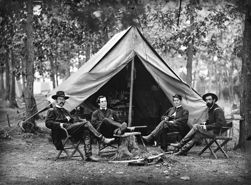 Allan Pinkerton, Circa Civil War. Image: Library of Congress.