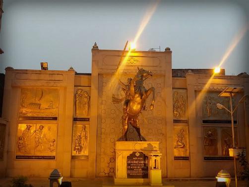 Birthplace of Rani Lakshmibai, Varanasi. Image: Wikipedia.