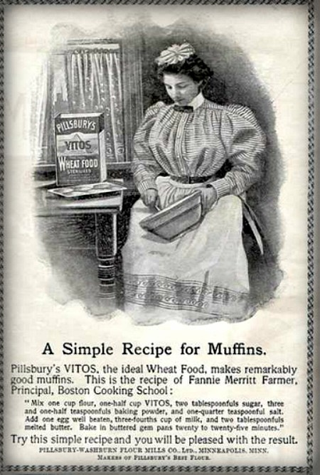 Cooking School Ad. Image: LOC.