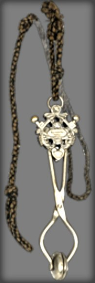 Skirt Lifter For Women Tennis Players, circa 1880. Image: ITHF Museum Collection.