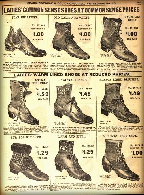 Shoe Ad, 1908. Image: Wikipedia.