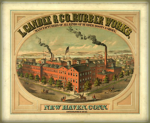 L. Candee & Company Rubber Works. Image: Wikipedia.