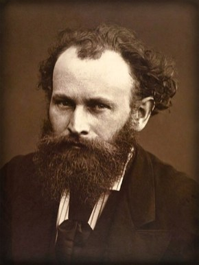 Édouard Manet, by Nadar. Image: Wikipdeia.