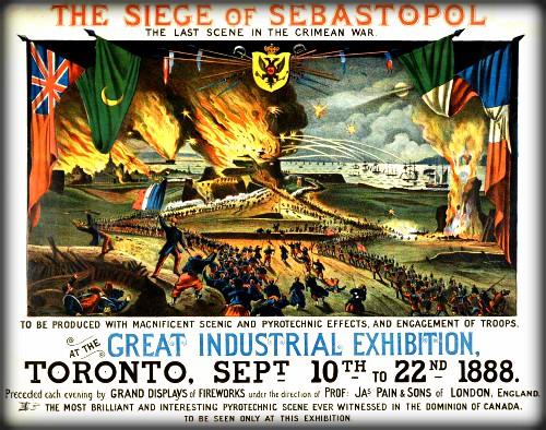 Siege of Sebastopol, 1888. Image Toronto Public Library.