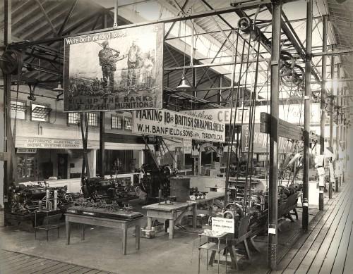 Machinery Hall, 1916. Image: Toronto Public Library.