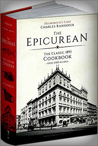 The Epicurean Cook book, Delmonico's. Image: Amazon.