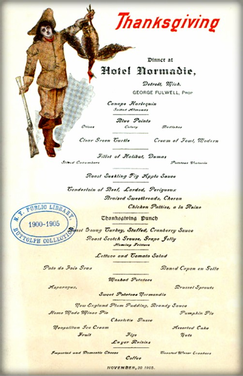 The Hotel Normandie, Detroit, Michigan 1905. Image: New York Public Library.