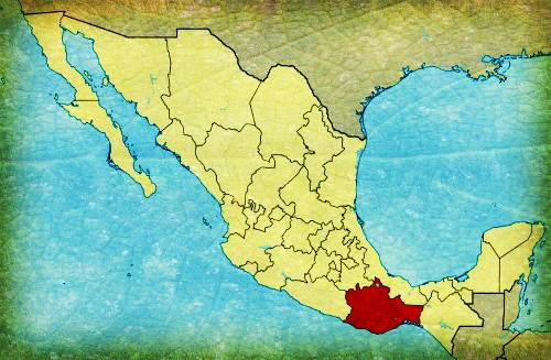 State of Oaxaca Within Mexico. Image: Wikipedia.