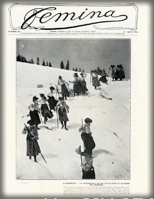 Femina Magazine Cover, c. early 1900s. Image: Wikipedia.