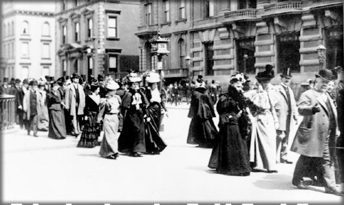 NYC Easter Parade, c. 1890. Image: Library of Congress.