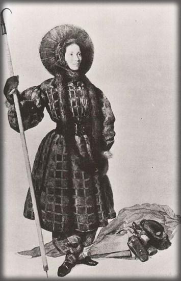 Henriette d'Angeville, 1838. Image: Wikipedia.