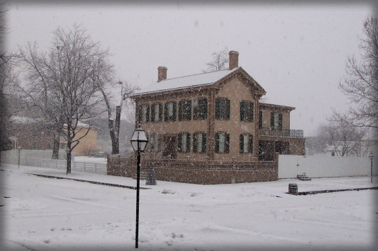 Lincoln Family Home, National Historic Site, Illinois. Image: National Park Service.