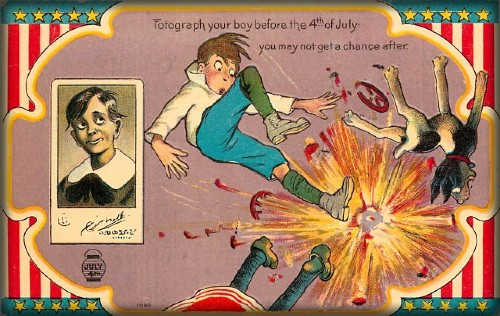 Vintage July Fourth Cards. Image: Vintage News Daily.