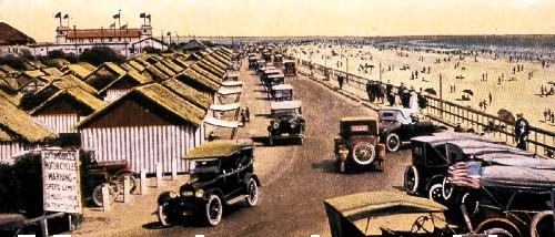 Coronado Tent City, Ocean Blvd., c. 1900. Image: Coronado Historical Association.org.